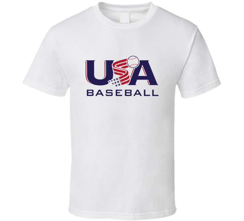 USA Baseball Fan T Shirt