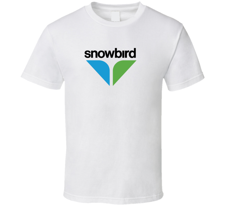 Snowbird Ski And Snowboard Mountain Utah Resort Fan T Shirt