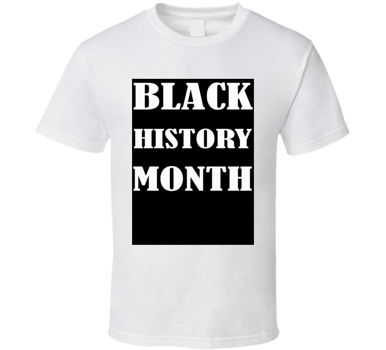 Black History Month USA Supporter T Shirt