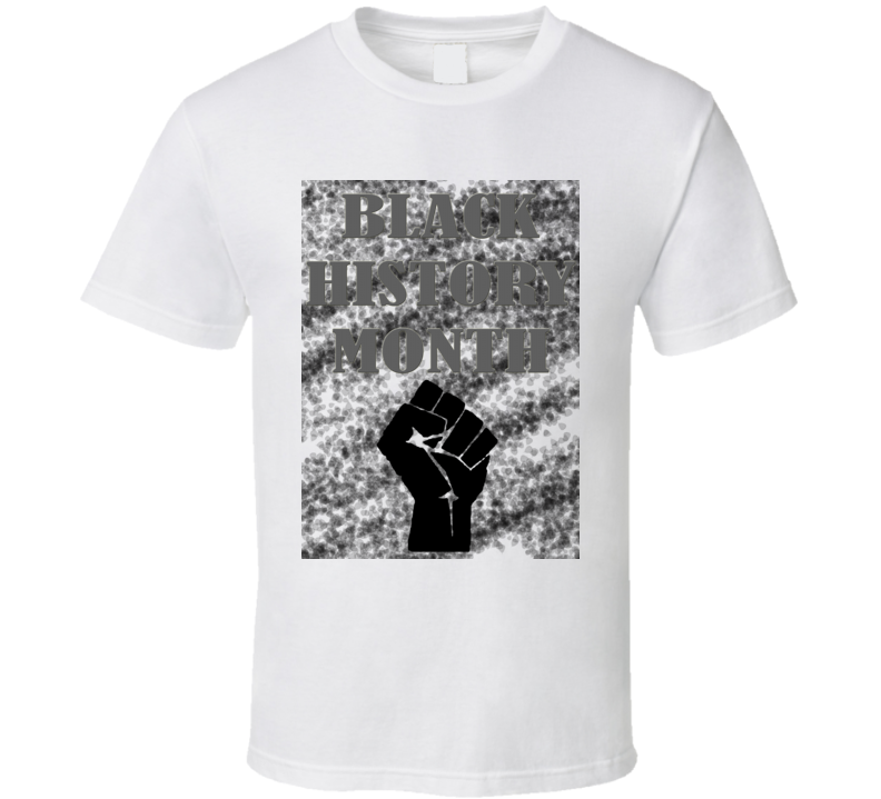 Black History Month American Supporter T Shirt