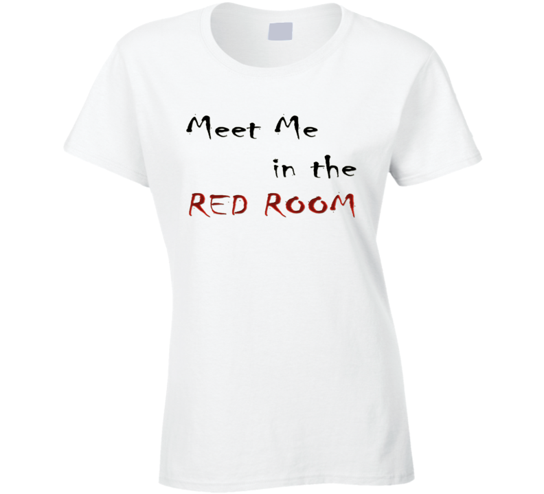 Meet Me In The Red Room 50 Shades Of Grey Fan T Shirt