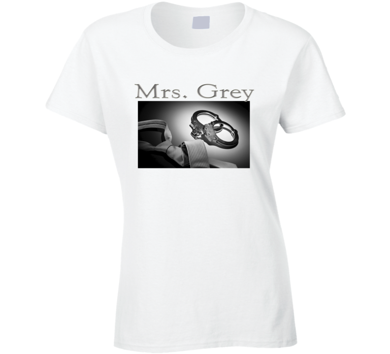 Mrs Grey 50 Shades Of Grey Fan T Shirt