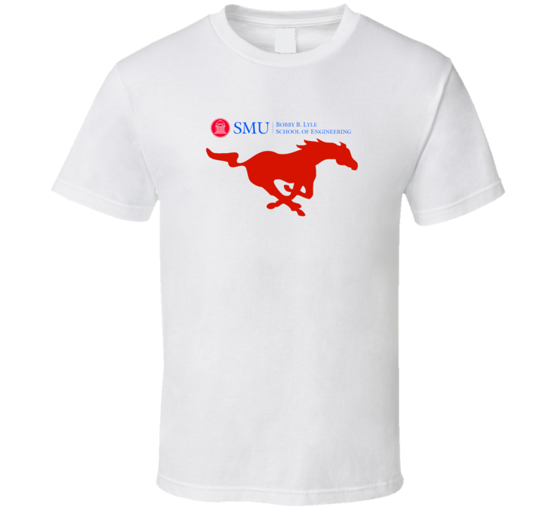 SMU Bobby Lyle School Of Engineering Supporter Custom T Shrit T Shirt