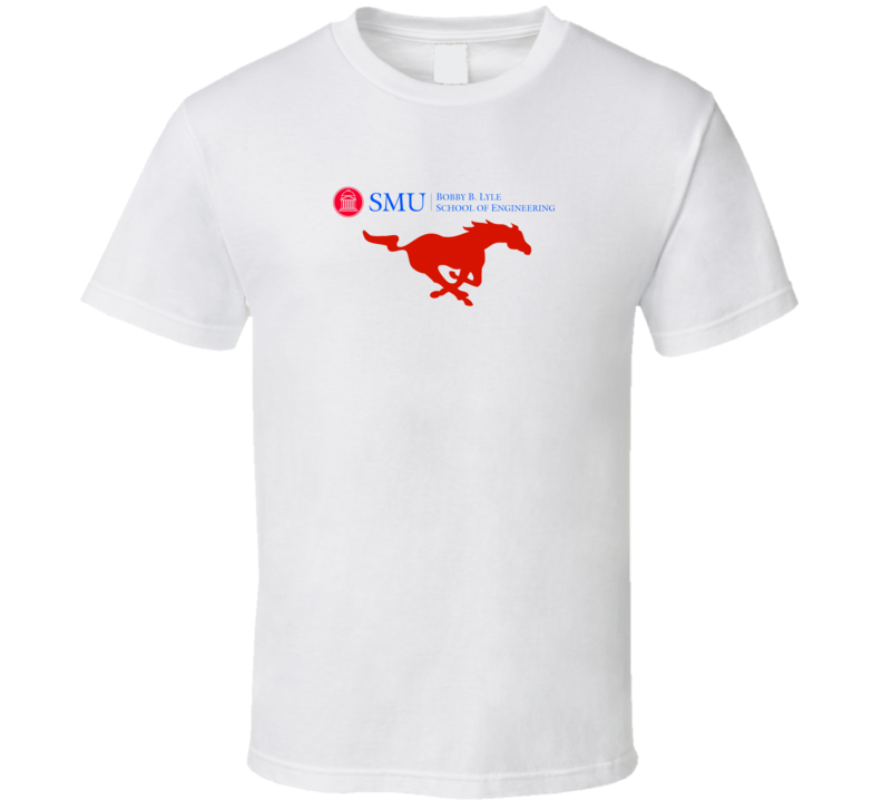 SMU Bobby Lyle School Of Engineering Fan Custom T Shrit T Shirt