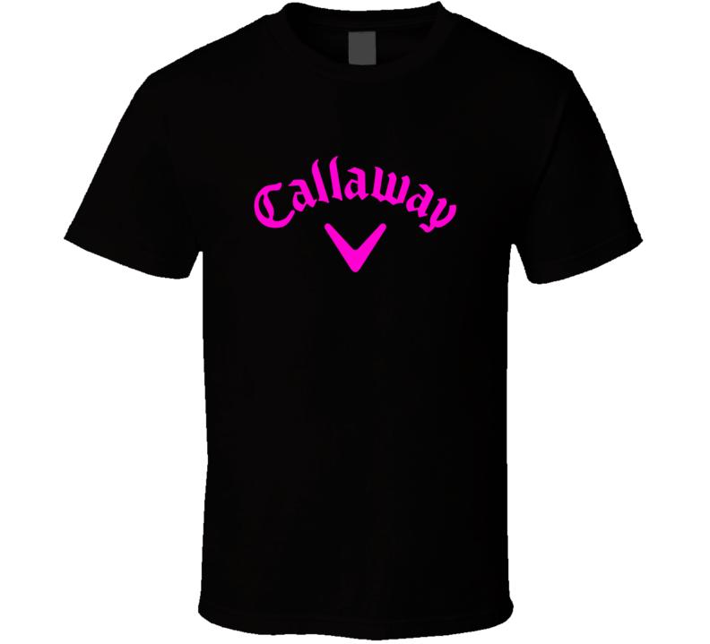 Pink Ladies Callaway Golf Fan T Shirt