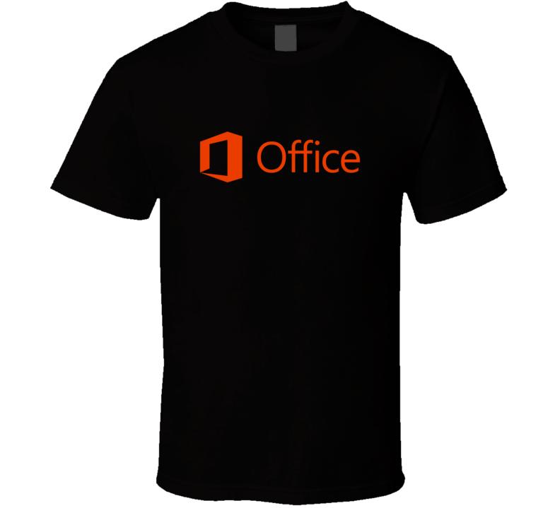 Microsoft Office Fan T Shirt