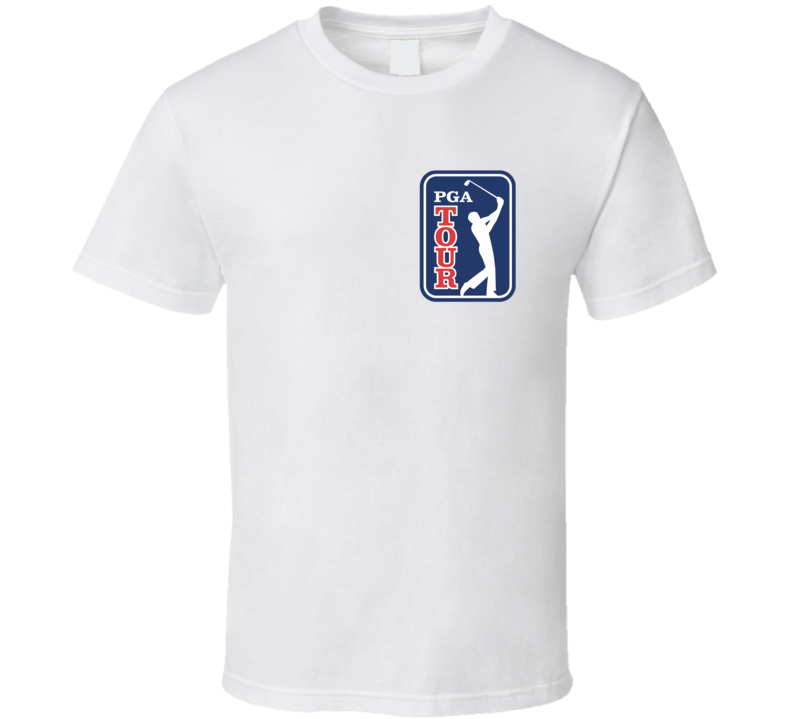 PGA Tour Golfing Fan T Shirt Shoulder