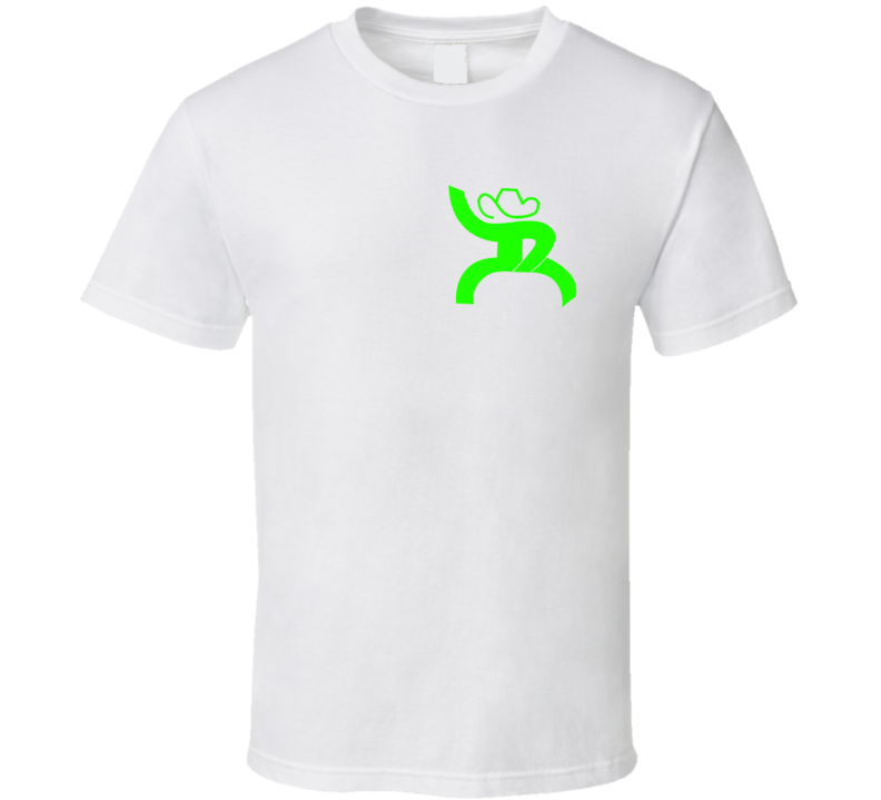Hooey Roping Rodeo Fan Green T Shirt