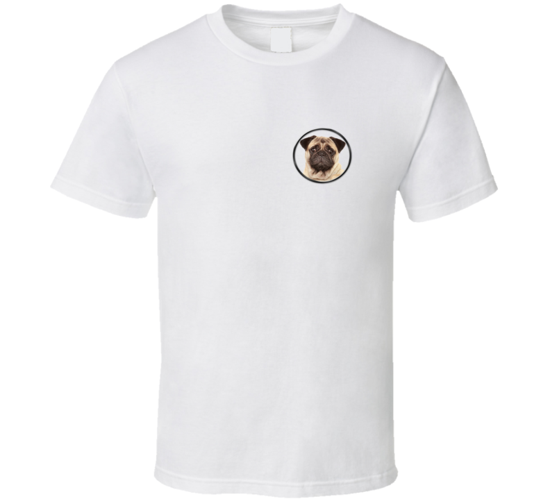 Pug Life Funny Pug Patch T Shirt