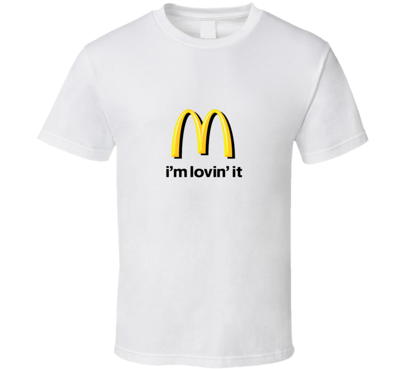 I'm Lovin' It Fan  T Shirt