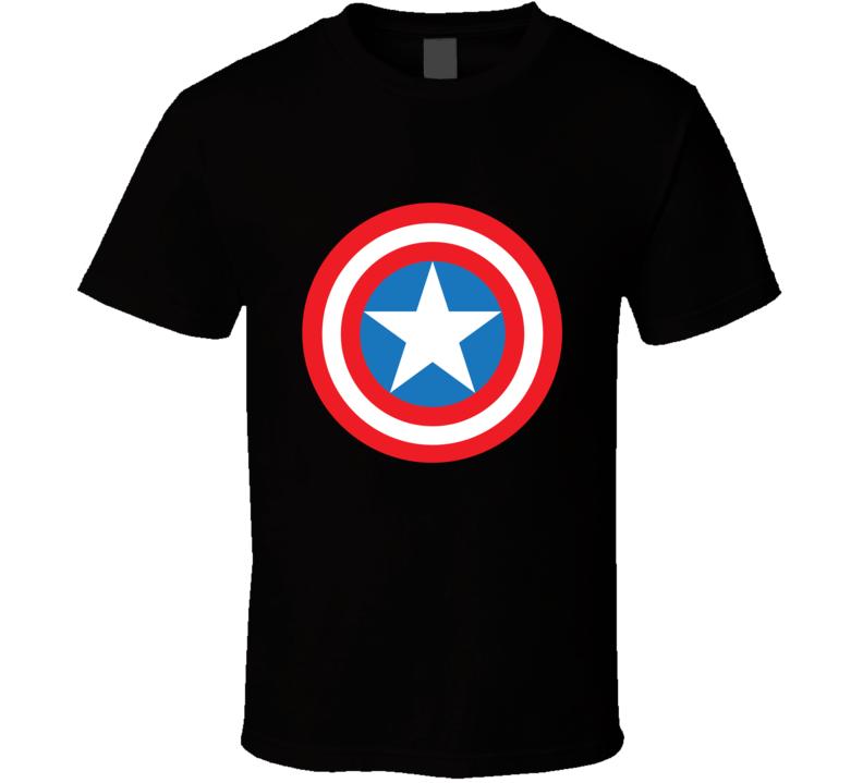 Captain America Superhero Fan T Shirt