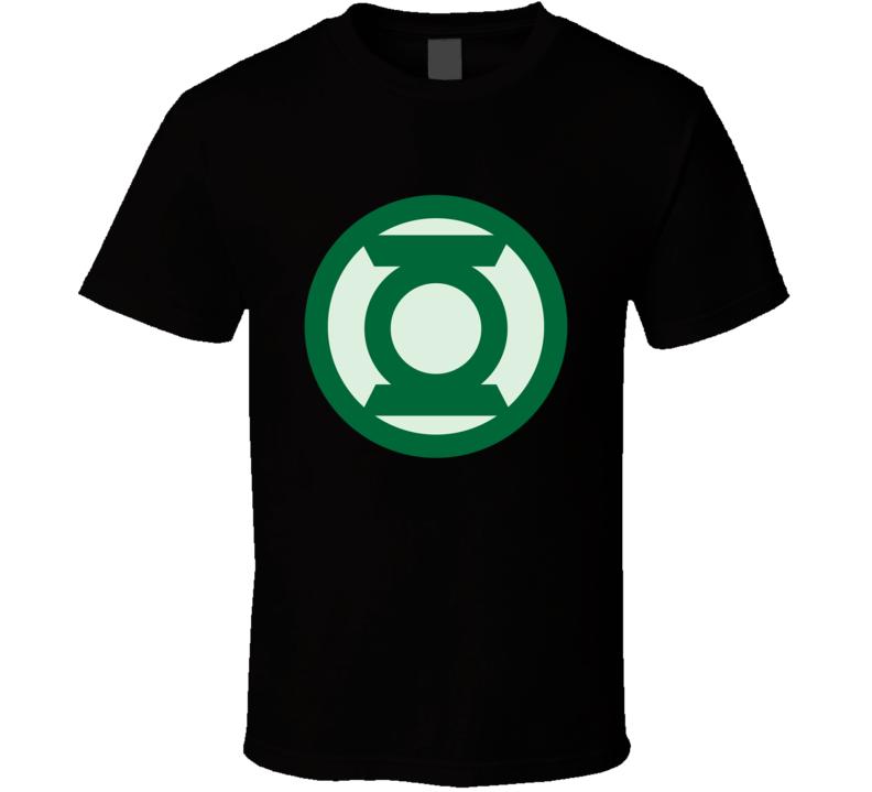Green Lantern Superhero Fan T Shirt