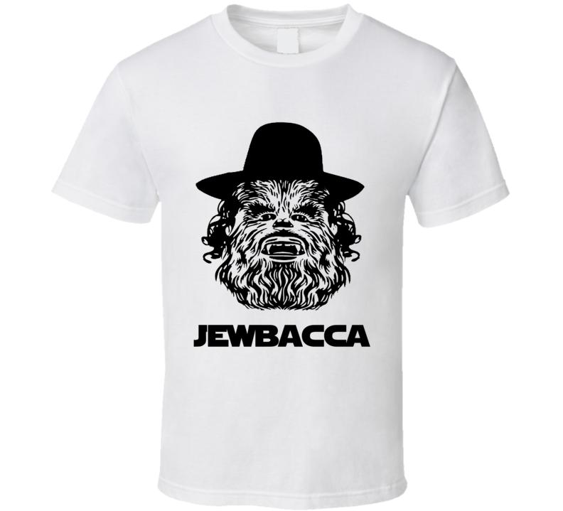 Jewbacca Jewish Chewbacca Funny Star Wars Hanukkah Shirt