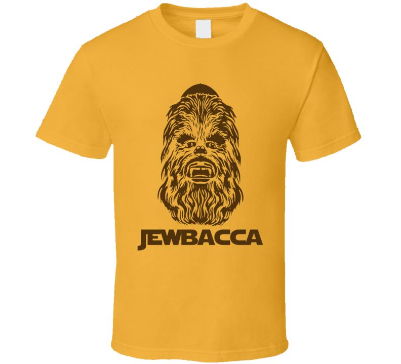 Jewbacca Jewish Chewbacca Funny Star Wars Shirt