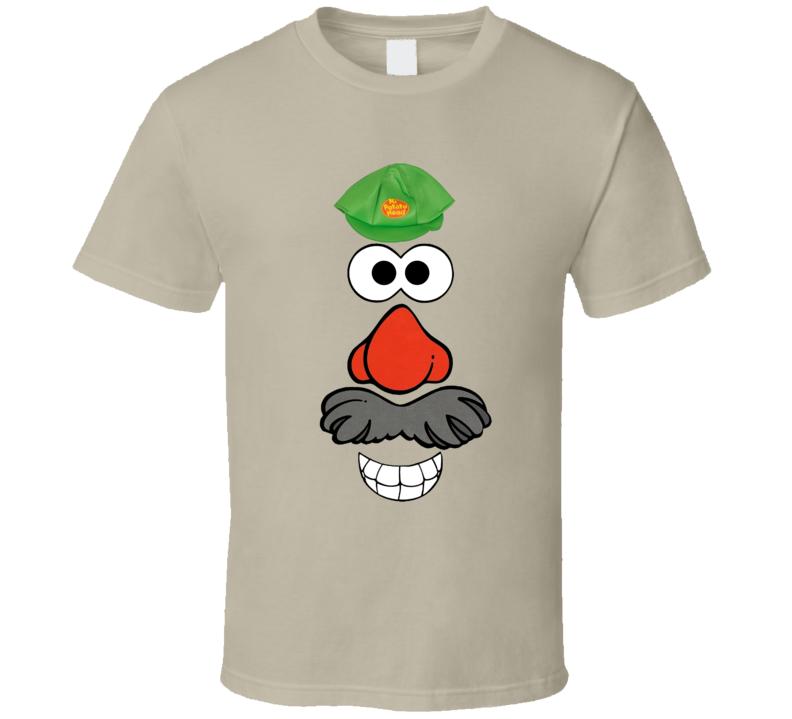 Mr Potato Head Costume Shirt