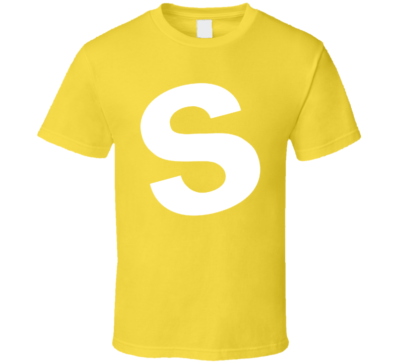 Skittles Candy Yellow Halloween Costume Shirt
