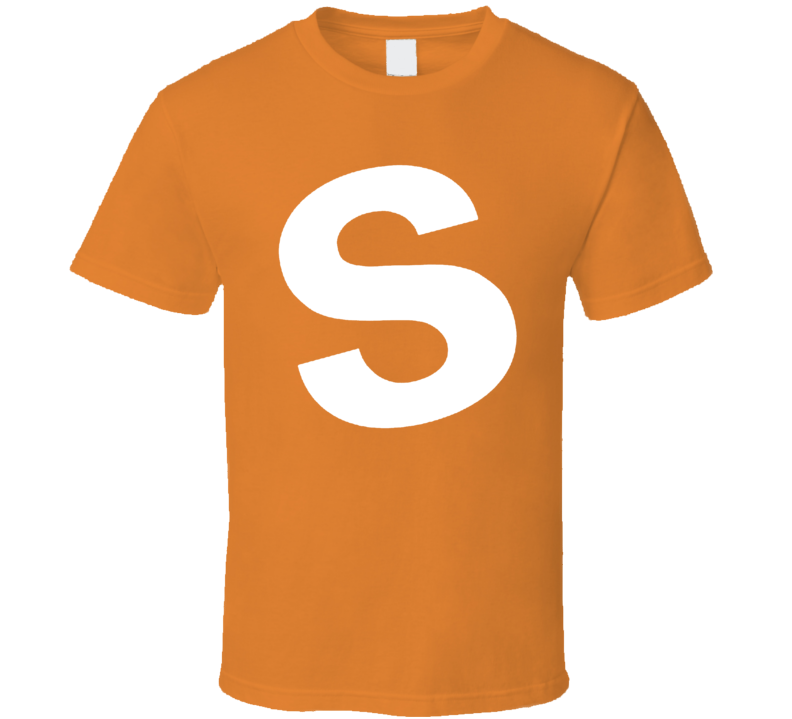 Skittles Candy Orange Halloween Costume Shirt