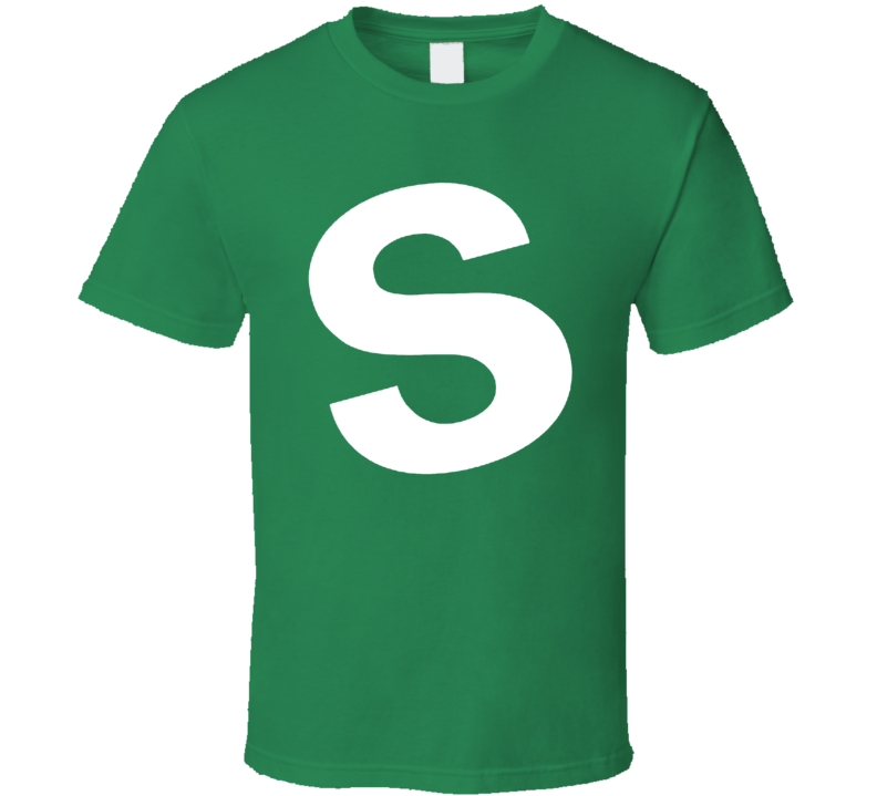 Skittles Candy Green Halloween Costume Shirt