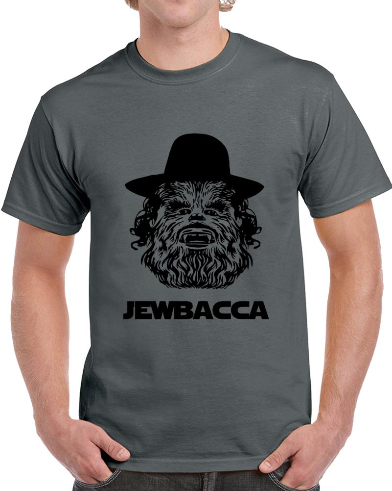 Jewbacca Jewish Chewbacca Clever Star Wars Hanukkah Shirt