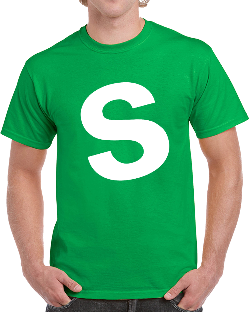 Skittles Candy Green Halloween Costume Shirt