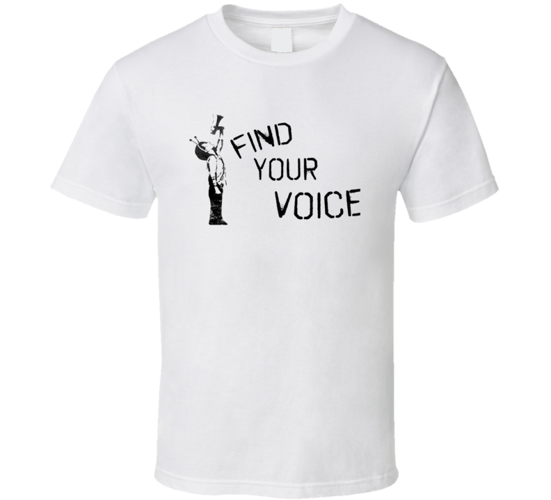 Find Your Voice Social Justice Protest T Shirt