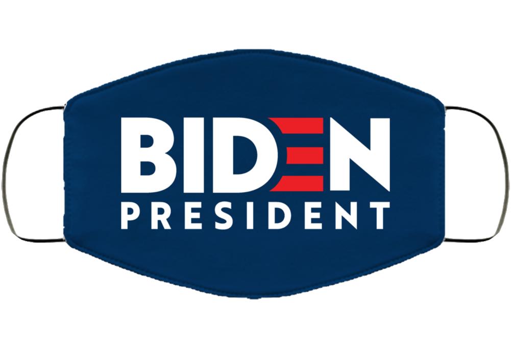 Biden For President 2020 Face Mask Cover