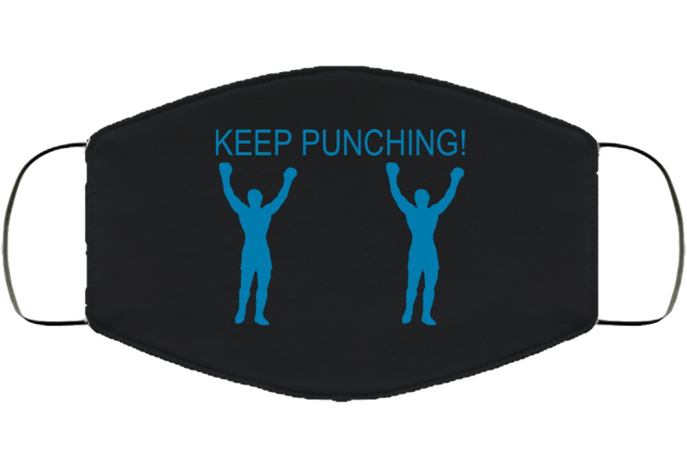 Keep Punching Face Mask Cover