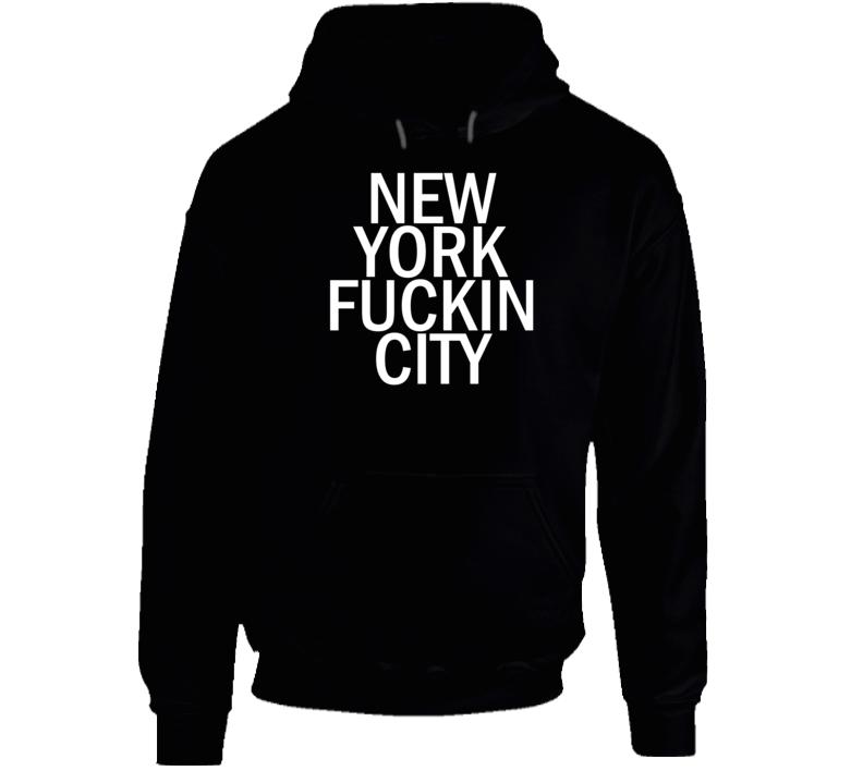 New York Fucking City Hoodie