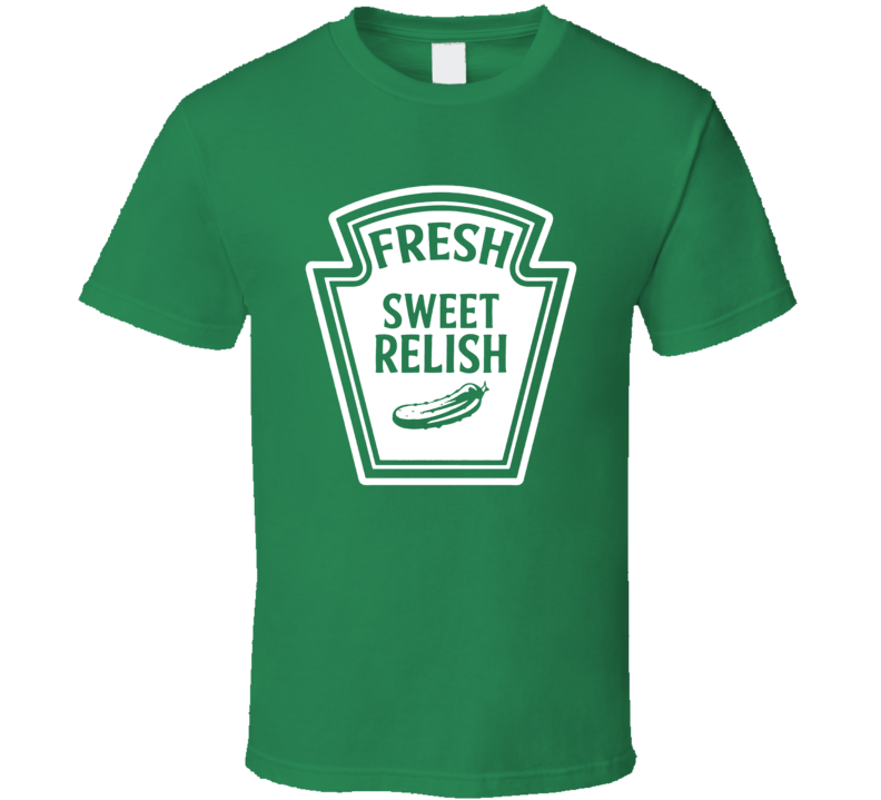 Relish Costume Condiment Group Halloween T Shirt