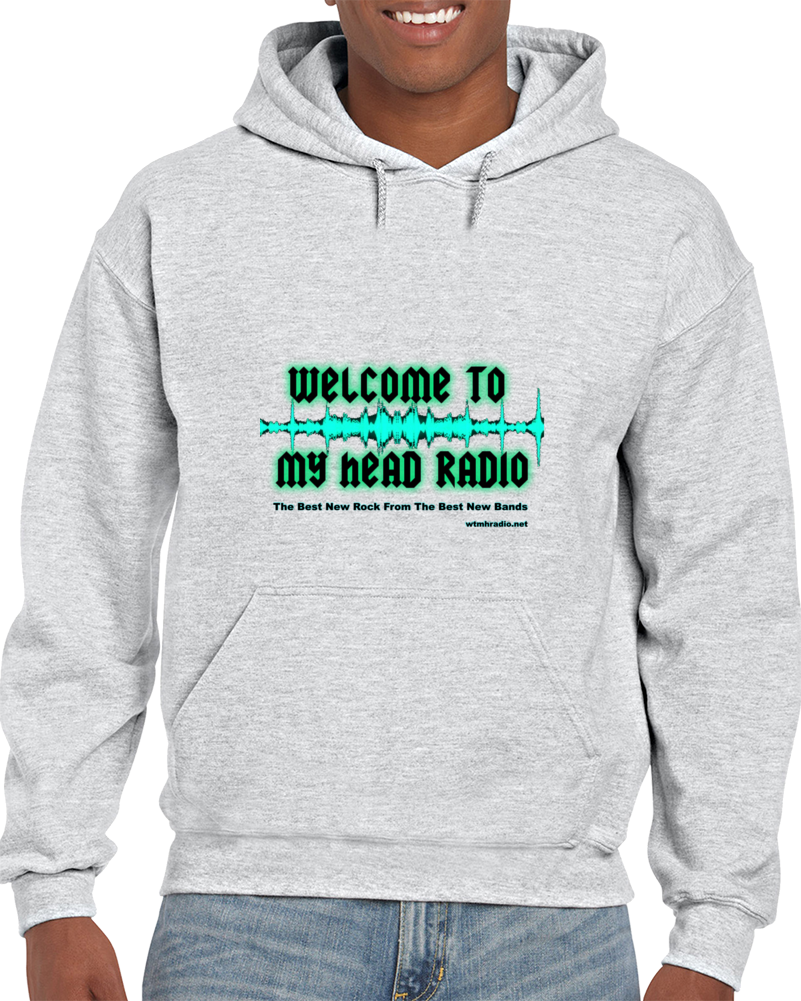 Welcome to My Head Radio Logo Hoodie
