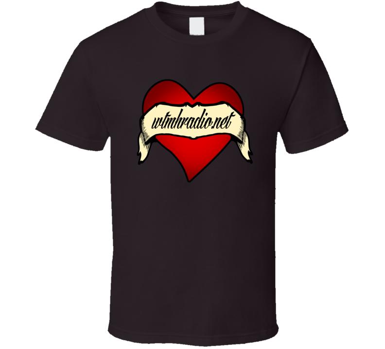 Welcome To My Head Radio Heart T Shirt