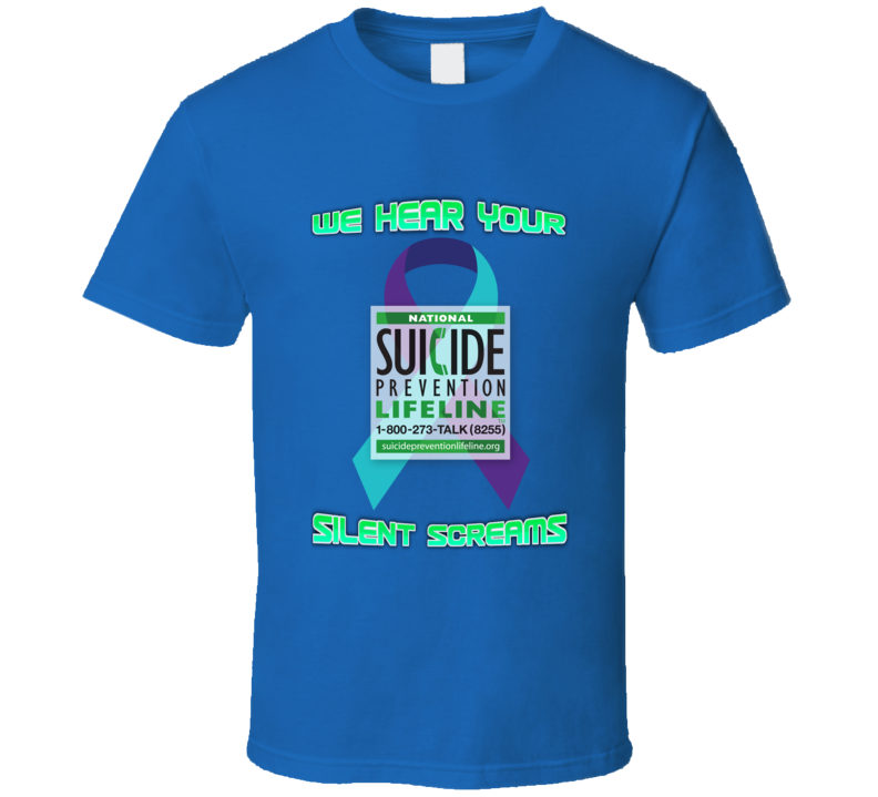 Suicide Prevention T Shirt