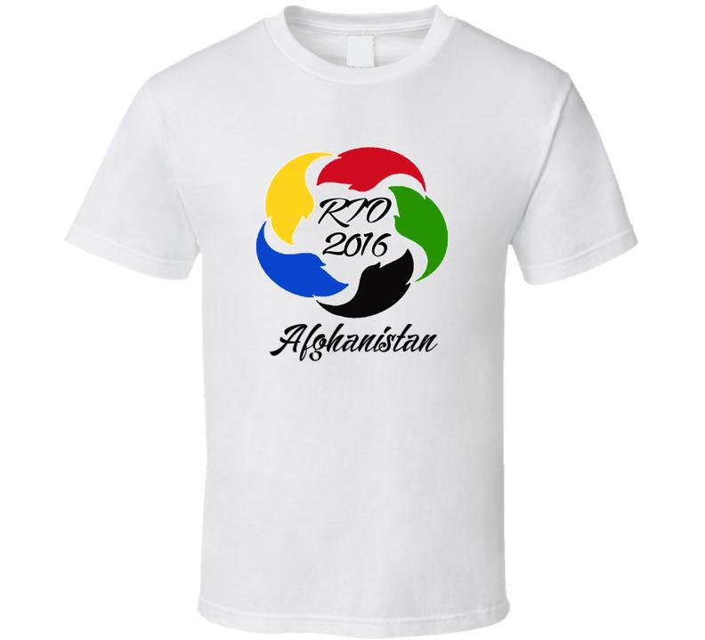 Afghanistan Olympics Rio 2016 Fan T shirt