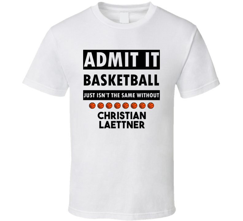 Christian Laettner Basketball Isnt The Same Without T shirt