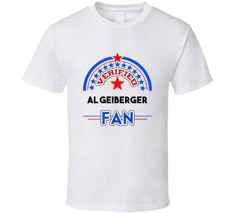 Al Geiberger Verified Fan T shirt
