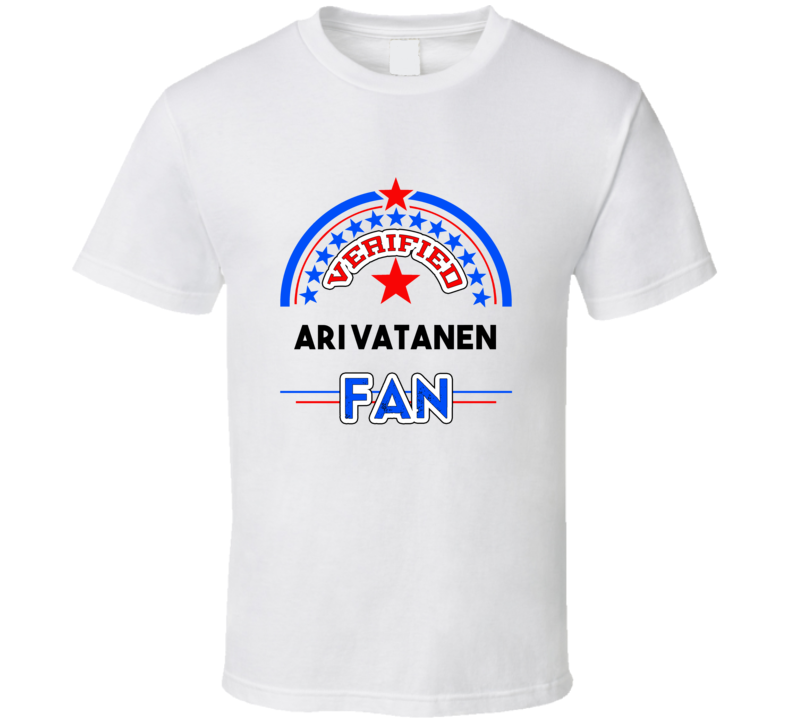Ari Vatanen Verified Fan T shirt