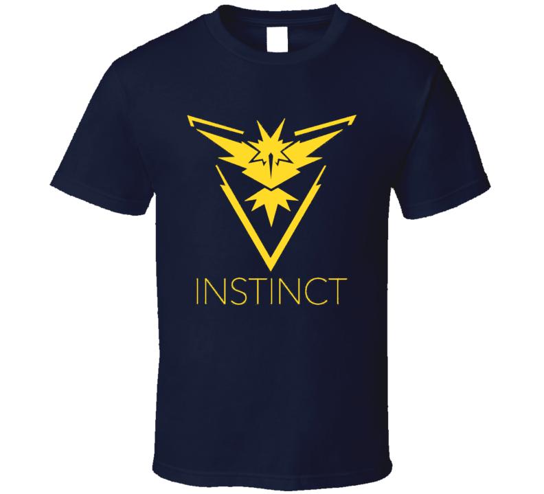 Team Instinct Alt Pokemon Go Game App Trending Fan T Shirt