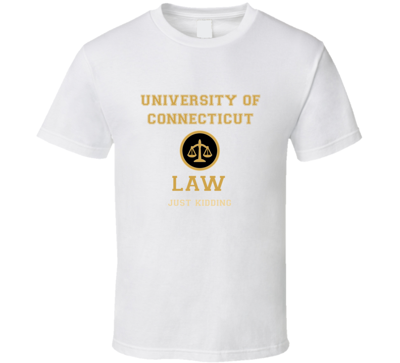 University Of Connecticut Law School  T shirt