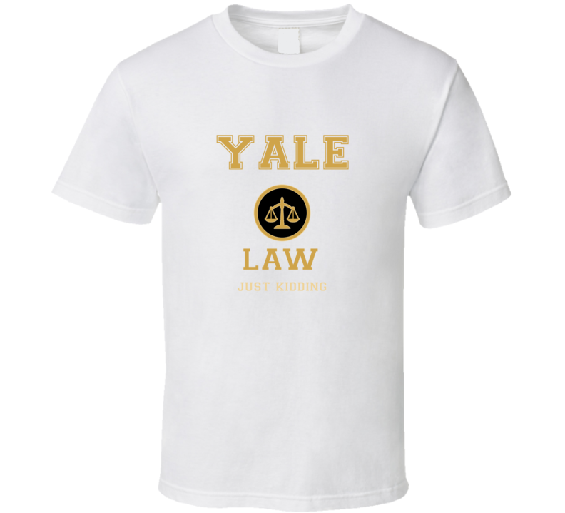 Yale Law School  T shirt