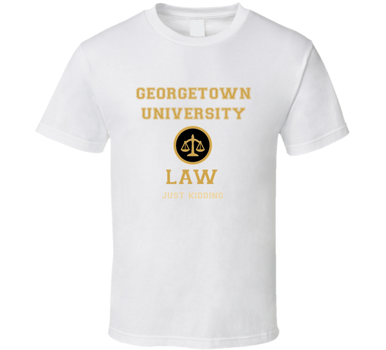 Georgetown University Law School  T shirt