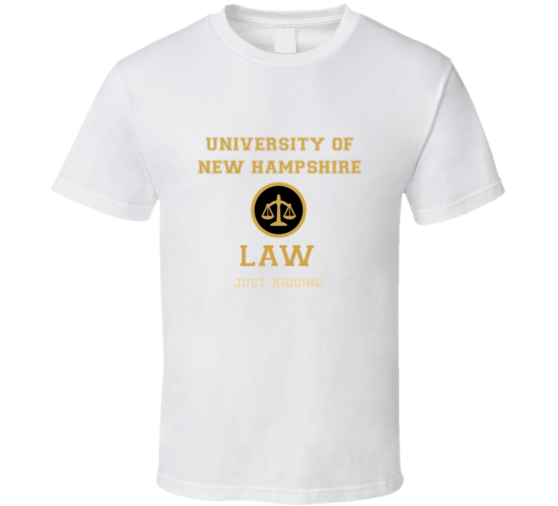 University Of New Hampshire Law School  T shirt