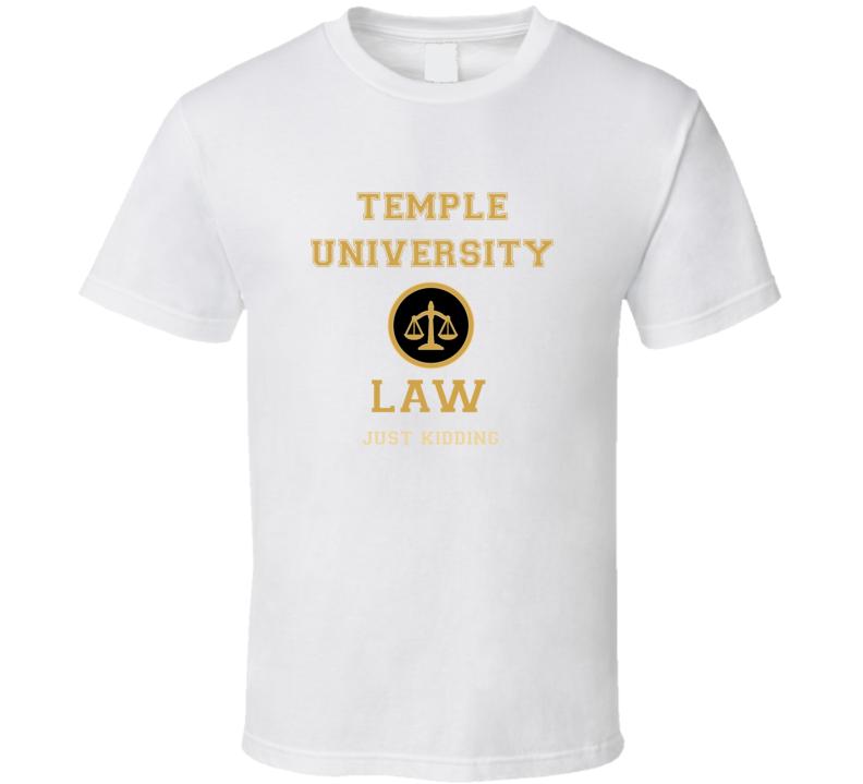 Temple University Law School  T shirt