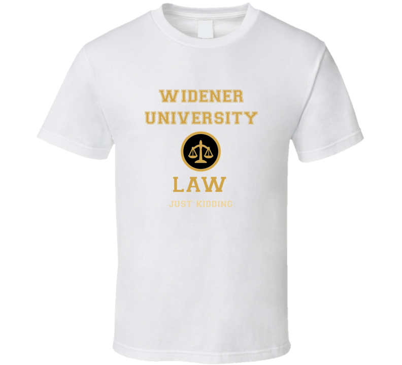 Widener University Law School  T shirt