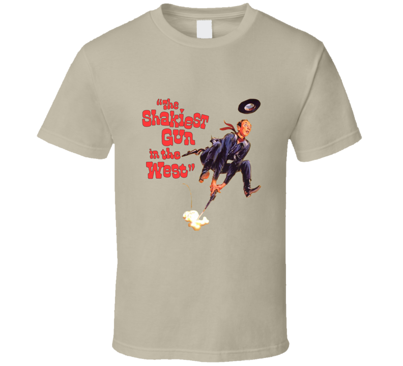 Don Knotts The Shakiest Gun In The West Retro Fan T shirt