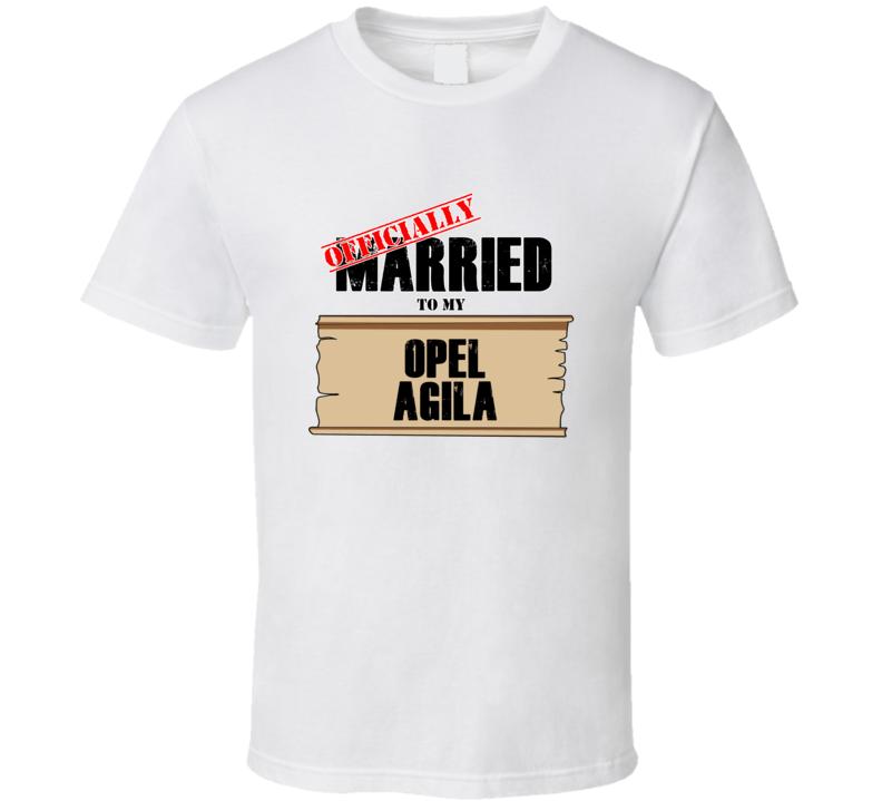 Opel Agila Married To My T shirt