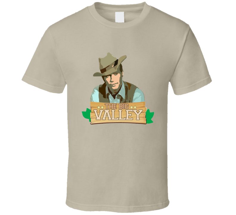 The Big Valley Lee Majors Popular Retro TV Show Fan T shirt