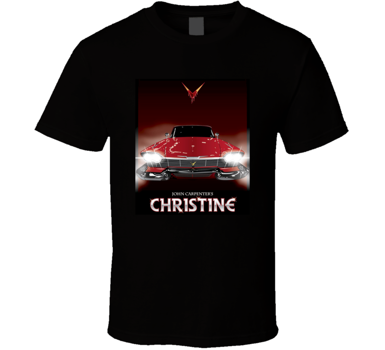 Christine Stephen King Novel Movie Horror Fan T Shirt