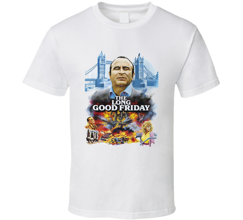 The Long Good Friday British Film Classic Cult Mob Fan  T-Shirt