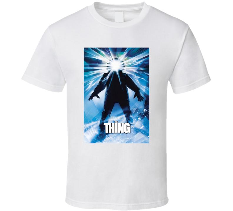 The Thing John Carpenter Film Classic Alien Horror Fan T Shirt