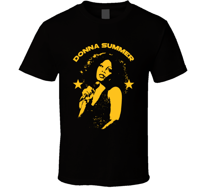 Donna Summer Icon Singer Legend Disco 70s Fan T Shirt